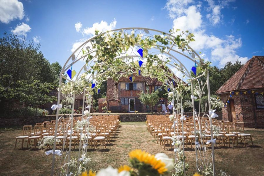 Weddings at Pekes Manor, Sussex. Distinctly Different.